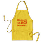 BBQ and Grill Personalised Father's Day Standard Apron