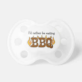 BBQ Baby Pacifiers