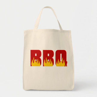 BBQ barbecue Tote Father's Day gift Grocery Tote Bag