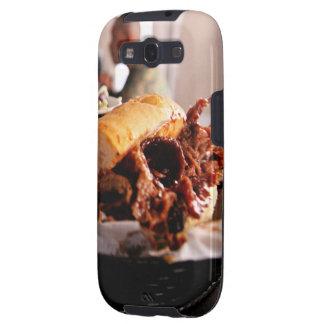 BBQ Beef Brisket Sandwich Samsung Galaxy SIII Covers