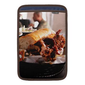 BBQ Beef Brisket Sandwich MacBook Sleeve