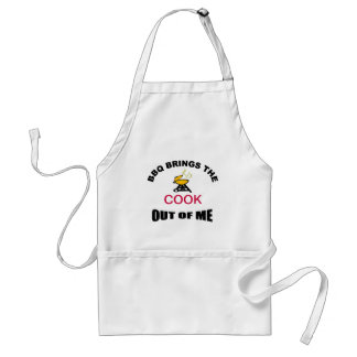 BBQ Brings The Cook Out Of Me Apron