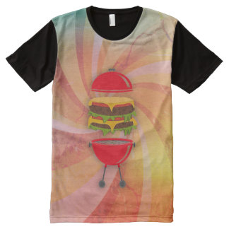 BBQ burger All-Over Print T-Shirt