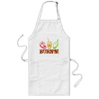BBQ BURN'N! LONG APRON