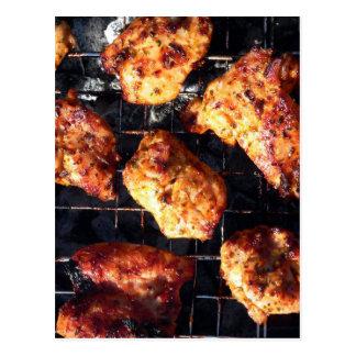BBQ Chicken Postcard