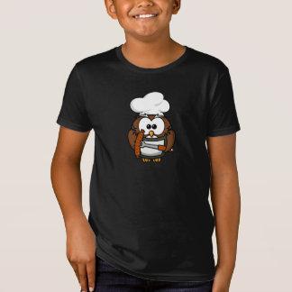 BBQ Cook Owl T-Shirt