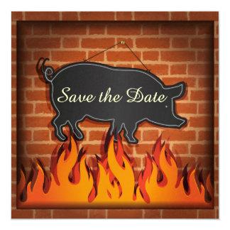 BBQ Cookout Pig Pickin' ! Card