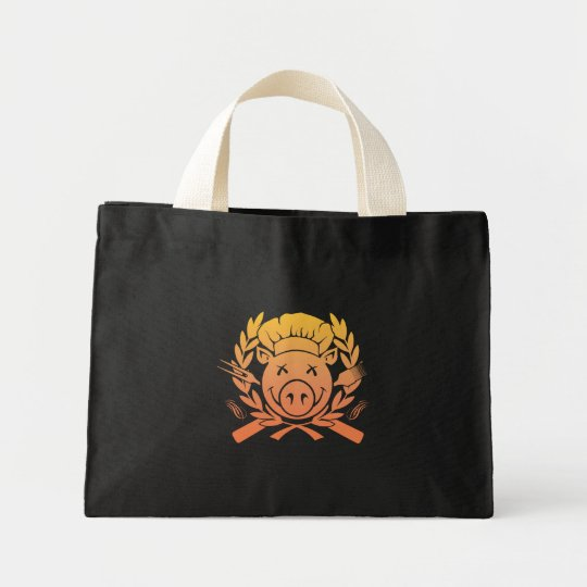 BBQ Crest - sunset fade dark bag