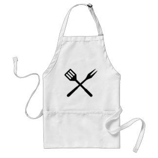 BBQ cutlery icon Standard Apron