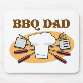 BBQ Dad Mouse Pad