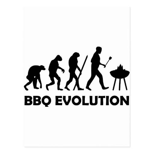 bbq evolution post card
