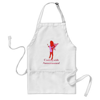 BBQ Fairy Cooking with Awesomesauce! Standard Apron