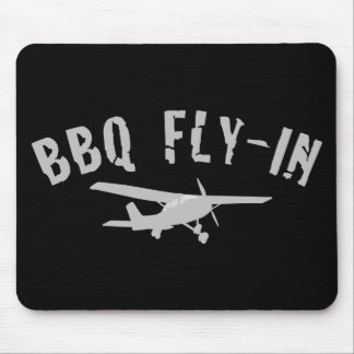 BBQ Fly-In Airplane Mousepads