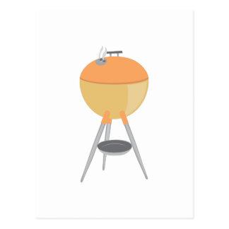 BBQ Grill Postcard