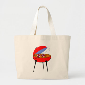 BBQ Grill with Steaks Bags