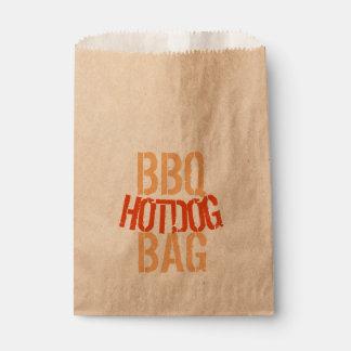 BBQ Hotdog Paper Bag