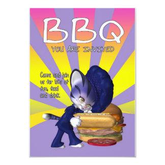 BBQ Invitation Card - BBQ Invite