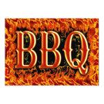 BBQ Invitations 13 Cm X 18 Cm Invitation Card