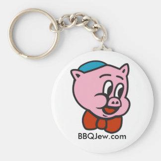 BBQ Jew Icon Keychain