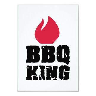 BBQ King 9 Cm X 13 Cm Invitation Card