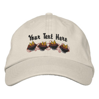 BBQ King - Customize Embroidered Baseball Cap