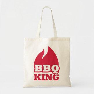 BBQ King flame fire Canvas Bag