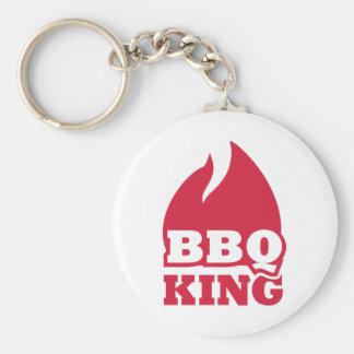 BBQ King flame fire Key Chain