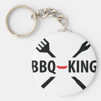 BBQ-King icon Key Chain