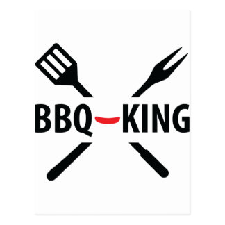 BBQ-King icon Post Cards