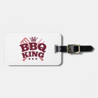 BBQ KING LUGGAGE TAGS