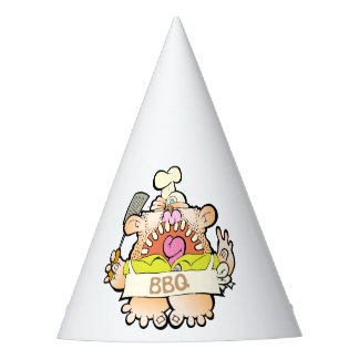 BBQ King Party Hat