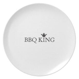 BBQ King Plate