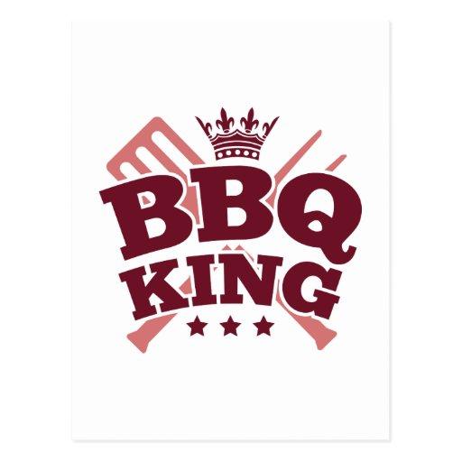 BBQ KING POSTCARDS