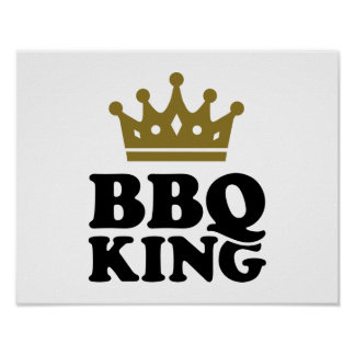 BBQ King Posters