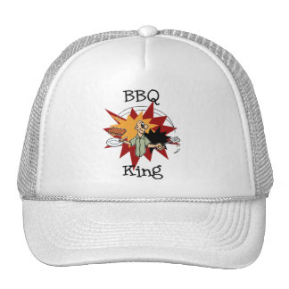 BBQ King T-shirts and Gifts Cap