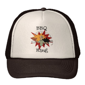 BBQ King T-shirts and Gifts Trucker Hats