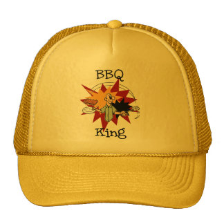 BBQ King T-shirts and Gifts Mesh Hat