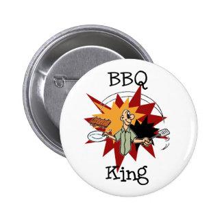 BBQ King T-shirts and Gifts Pins