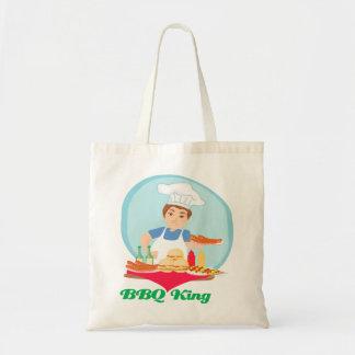 BBQ king Tote Bag