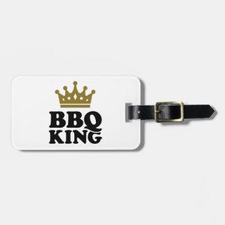 BBQ King Travel Bag Tags
