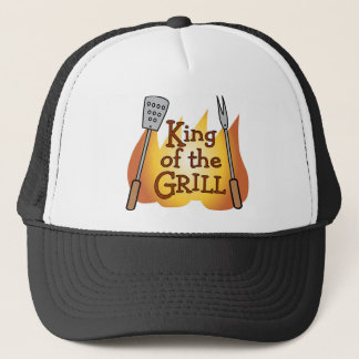 BBQ King Trucker Hat