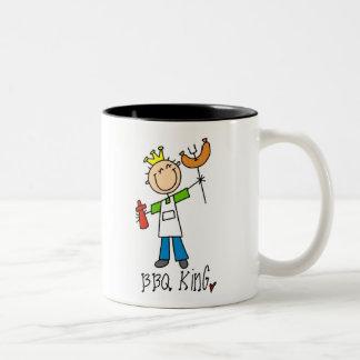 BBQ King Two-Tone Coffee Mug