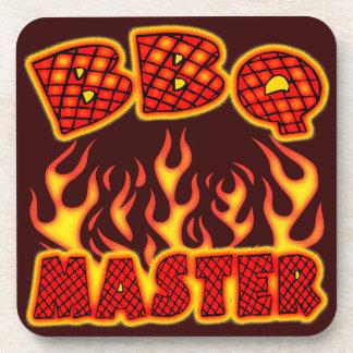 BBQ Master Beverage Coaster