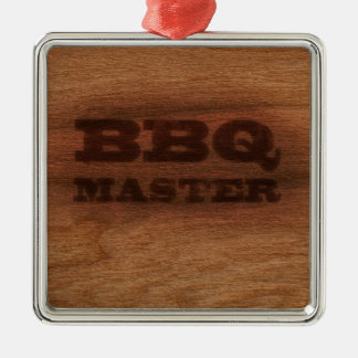 BBQ Master Christmas Ornament