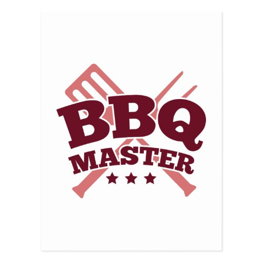 BBQ MASTER POST CARDS