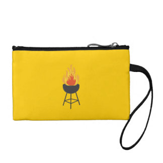 BBQ on Fire Coin Wallets