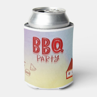 BBQ Party Can Cooler