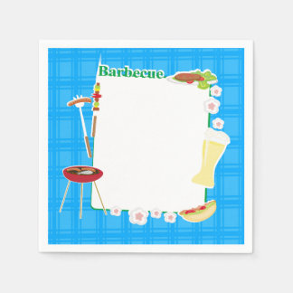 BBQ Party Disposable Serviettes