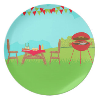 BBQ Party Plate
