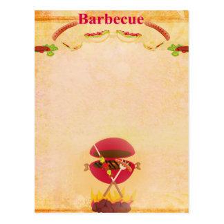 BBQ Party Postcard